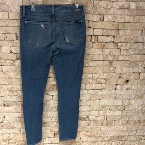 """7 For All Mankind Jeans - For all mankind """"7"""" -Blue Ripped jeans"""